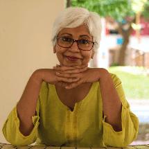 Elderly hispanic woman