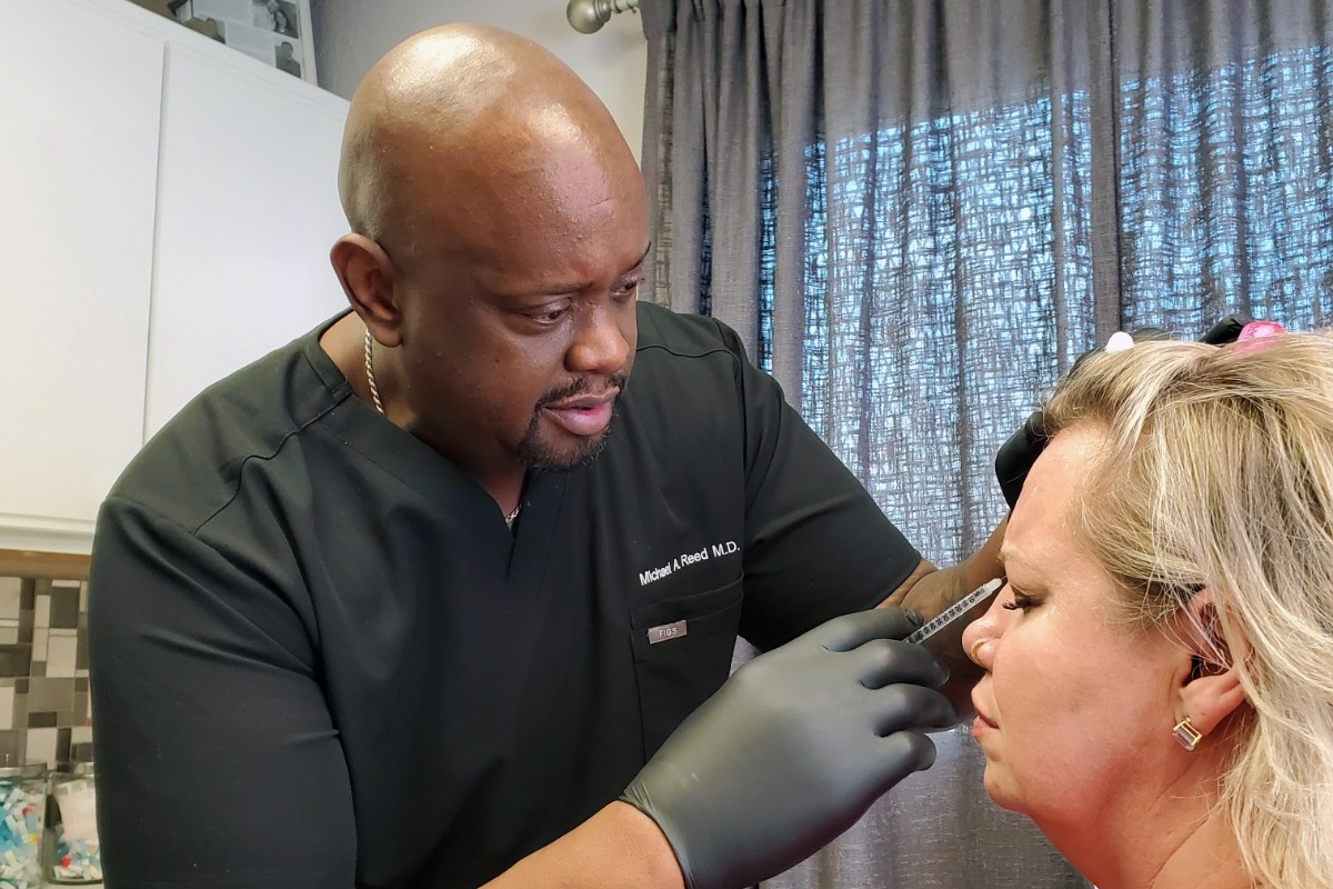 dr michael reed botox procedure