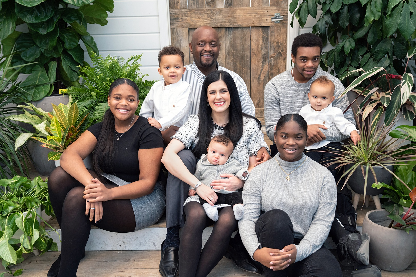 Dr. Michael Reed and his family photo